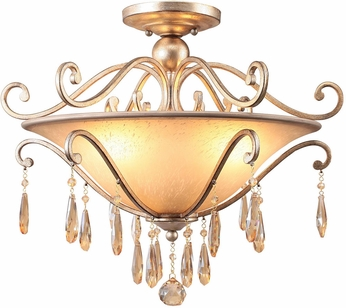 Crystorama 7525-DT Shelby Distressed Twilight Ceiling Light