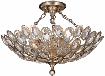 Crystorama 7584-DT-CEILING Sterling Distressed Twilight Ceiling Lighting Fixture