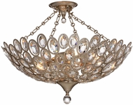 Crystorama 7587-DT-CEILING Sterling Distressed Twilight Ceiling Light Fixture