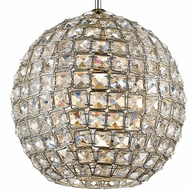 Crystorama 7800-DT Genesis Distressed Twilight Square Faceted Jewels Pendant Light