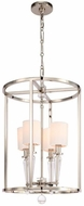 Crystorama 8104-PN Paxton Polished Nickel Foyer Lighting