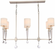 Crystorama 8106-PN Paxton Polished Nickel Kitchen Island Light Fixture