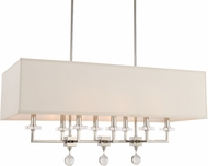 Crystorama 8109-PN Paxton Polished Nickel Kitchen Island Light