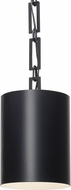 Crystorama 8680-MK-WH Alston Modern Matte Black Mini Hanging Light