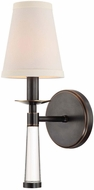 Crystorama 8861-OR Baxter Oil Rubbed Bronze Lighting Wall Sconce