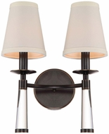 Crystorama 8862-OR Baxter Oil Rubbed Bronze Wall Sconce Lighting