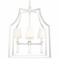 Crystorama 8864-PN Baxter Contemporary Polished Nickel Foyer Lighting