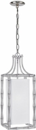 Crystorama 9011-SA Masefield Modern Antique Silver Entryway Light Fixture
