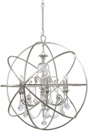 Crystorama 9219-OS-CL-S Solaris Olde Silver 40 Lighting Chandelier
