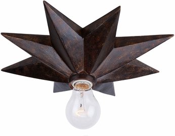 Crystorama 9230-EB-CEILING Astro Modern English Bronze Ceiling Lighting Fixture