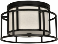 Crystorama 9590-MK Hulton Modern Matte Black Home Ceiling Lighting