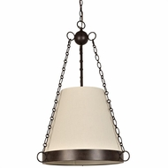 Crystorama 9816-CZ Ellis Charcoal Bronze Drop Lighting