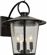 Crystorama AND-9202-SD-MK Andover Matte Black Outdoor 14 Wall Sconce Light