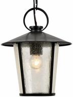Crystorama AND-9203-SD-MK Andover Matte Black Exterior Mini Pendant Hanging Light