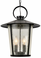 Crystorama AND-9204-SD-MK Andover Matte Black Outdoor Hanging Light Fixture