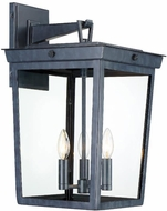 Crystorama BEL-A8063-GE Belmont Graphite Exterior 12 Lamp Sconce