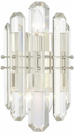 Crystorama BOL-8882-PN Bolton Polished Nickel Lighting Wall Sconce