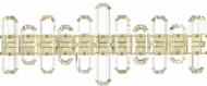 Crystorama BOL-8883-AG Bolton Aged Brass Bath Lighting