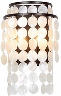 Crystorama BRI-3002-DB Brielle Dark Bronze Wall Sconce Lighting