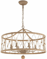 Crystorama BRX-B7906-BS Brixton Burnished Silver Pendant Hanging Light