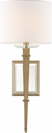 Crystorama CLI-231-AG Clifton Aged Brass Wall Light Fixture