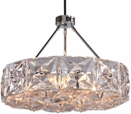 Crystorama COL-7906-CH Collins Polished Chrome Drop Lighting