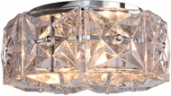 Crystorama COL-7907-CH Collins Polished Chrome Home Ceiling Lighting