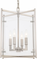 Crystorama DAN-8796-BN Danbury Brushed Nickel 12  Foyer Lighting