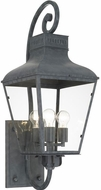 Crystorama DUM-9803-GE Dumont Traditional Graphite Exterior 12  Wall Sconce Lighting