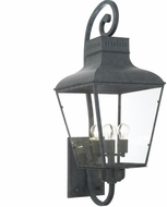 Crystorama DUM-9804-GE Dumont Traditional Graphite Outdoor 15  Wall Light Fixture