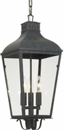 Crystorama DUM-9805-GE Dumont Traditional Graphite Exterior Mini Ceiling Pendant Light