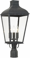 Crystorama DUM-9807-GE Dumont Traditional Graphite Outdoor Foyer Lighting