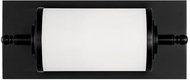 Crystorama FOS-A8050-MK Foster Modern Matte Black LED 12  Vanity Light