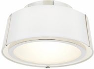 Crystorama FUL-903-PN Fulton Contemporary Polished Nickel 12 Ceiling Lighting