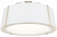 Crystorama FUL-905-PN Fulton Contemporary Polished Nickel 18 Ceiling Lighting Fixture