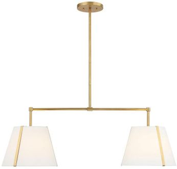 Crystorama FUL-906-GA Fulton Modern Antique Gold Kitchen Island Light