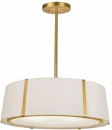 Crystorama FUL-907-GA Fulton Contemporary Antique Gold Pendant Light