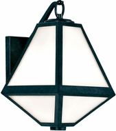 Crystorama GLA-9701-OP-BC Glacier Black Charcoal Outdoor 8 Wall Sconce Light