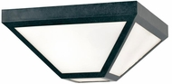 Crystorama GLA-9703-BC Glacier Black Charcoal Exterior Ceiling Light