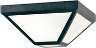 Crystorama GLA-9703-OP-BC Glacier Black Charcoal Outdoor Ceiling Light