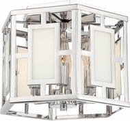 Crystorama HIL-990-PN Hillcrest Contemporary Polished Nickel Ceiling Lighting Fixture