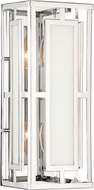 Crystorama HIL-992-PN Hillcrest Contemporary Polished Nickel Lighting Sconce