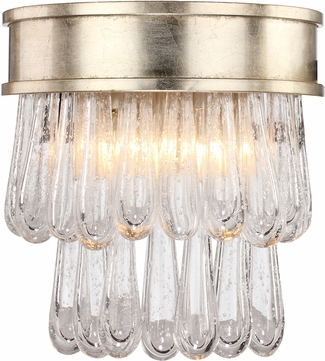 Crystorama JUL-7702-DT Julien Distressed Twilight Wall Sconce Lighting