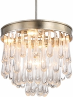 Crystorama JUL-7705-DT Julien Distressed Twilight 20.5  Pendant Light