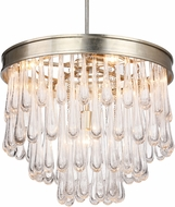 Crystorama JUL-7706-DT Julien Distressed Twilight 24.5  Lighting Pendant