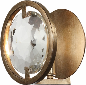 Crystorama QUI-7621-DT Quincy Distressed Twilight Wall Sconce