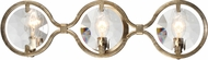 Crystorama QUI-7623-DT Quincy Distressed Twilight Vanity Light Fixture