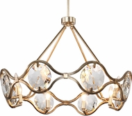 Crystorama QUI-7628-DT Quincy Distressed Twilight Chandelier Light