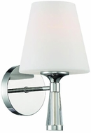 Crystorama RAM-A3401-PN Ramsey Contemporary Polished Nickel Wall Sconce Lighting