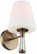 Crystorama RAM-A3401-VG Ramsey Contemporary Vibrant Gold Wall Mounted Lamp